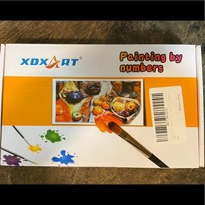 XDXArt Paint By Numbers Kit 40x50cm